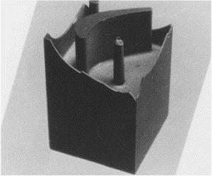 تیغه نیترید سیلیکون برای حفرههای 3 بعدی