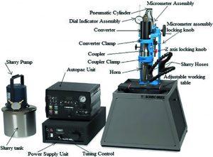 مجموعه ماشین 500W فراصوتی برای قطعات کوچک و سبک وزن
