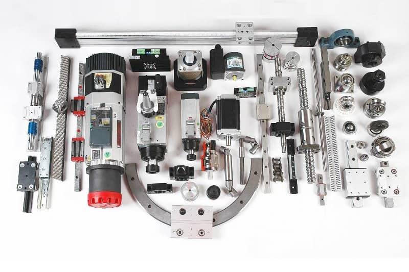 اجزای مکانیکی ماشین افزار CNC