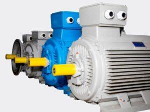 الکتروموتور یکی از اجزای دستگاه اکسترودر